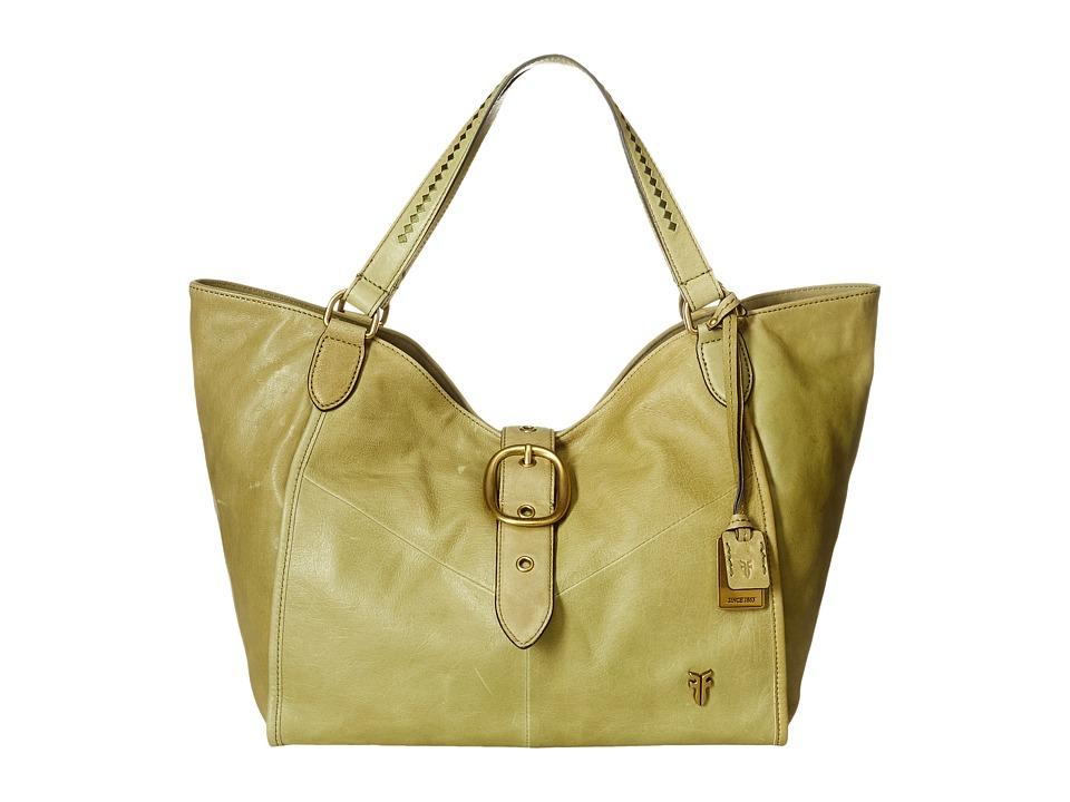 Frye - Belle Bohemian Satchel (Moss) Satchel Handbags