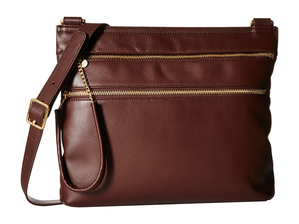 Hobo - Hands Off Crossbody (Chocolate) Cross Body Handbags