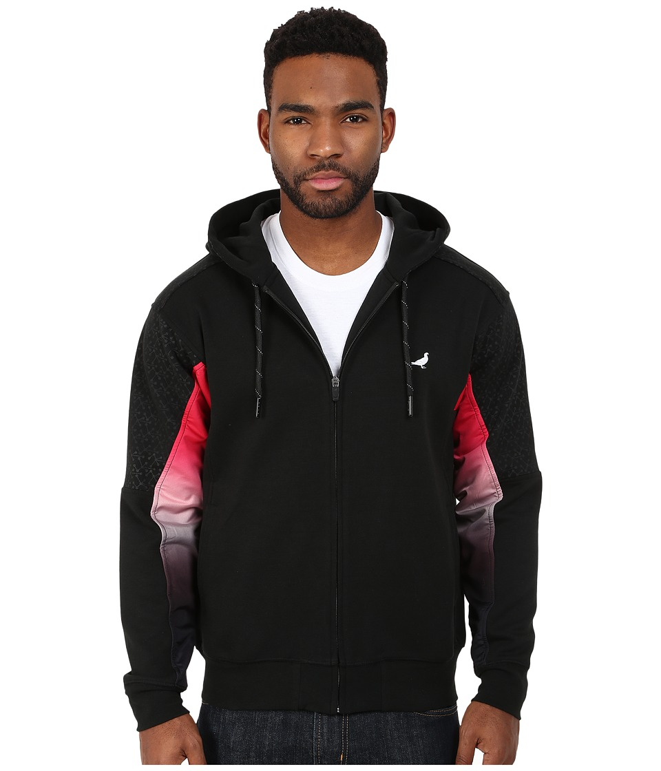 Staple - Chromatic Zip Hoodie (Black) Men's Sweatshirt