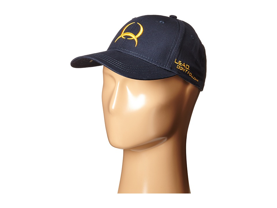 Cinch - Low Profile Flat Bill Cap (Navy) Caps