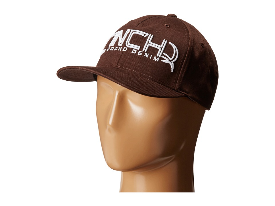 Cinch - Mid-Profile,Athletic Shape (Brown) Caps