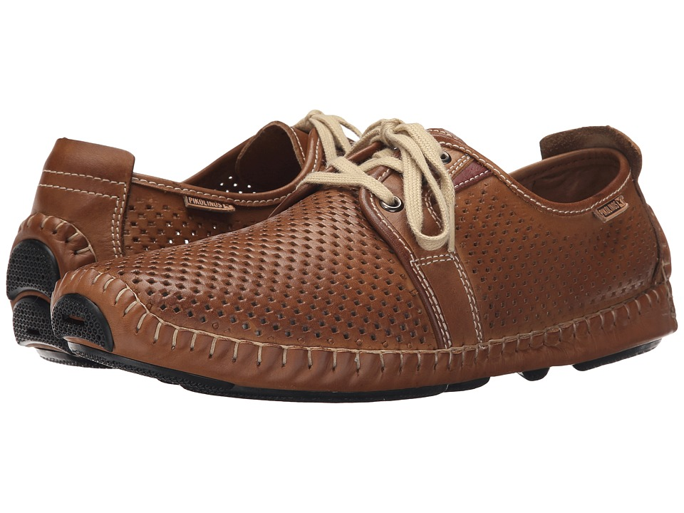 Pikolinos - Jerez 09Z-6038 (Brandy) Men's Lace up casual Shoes