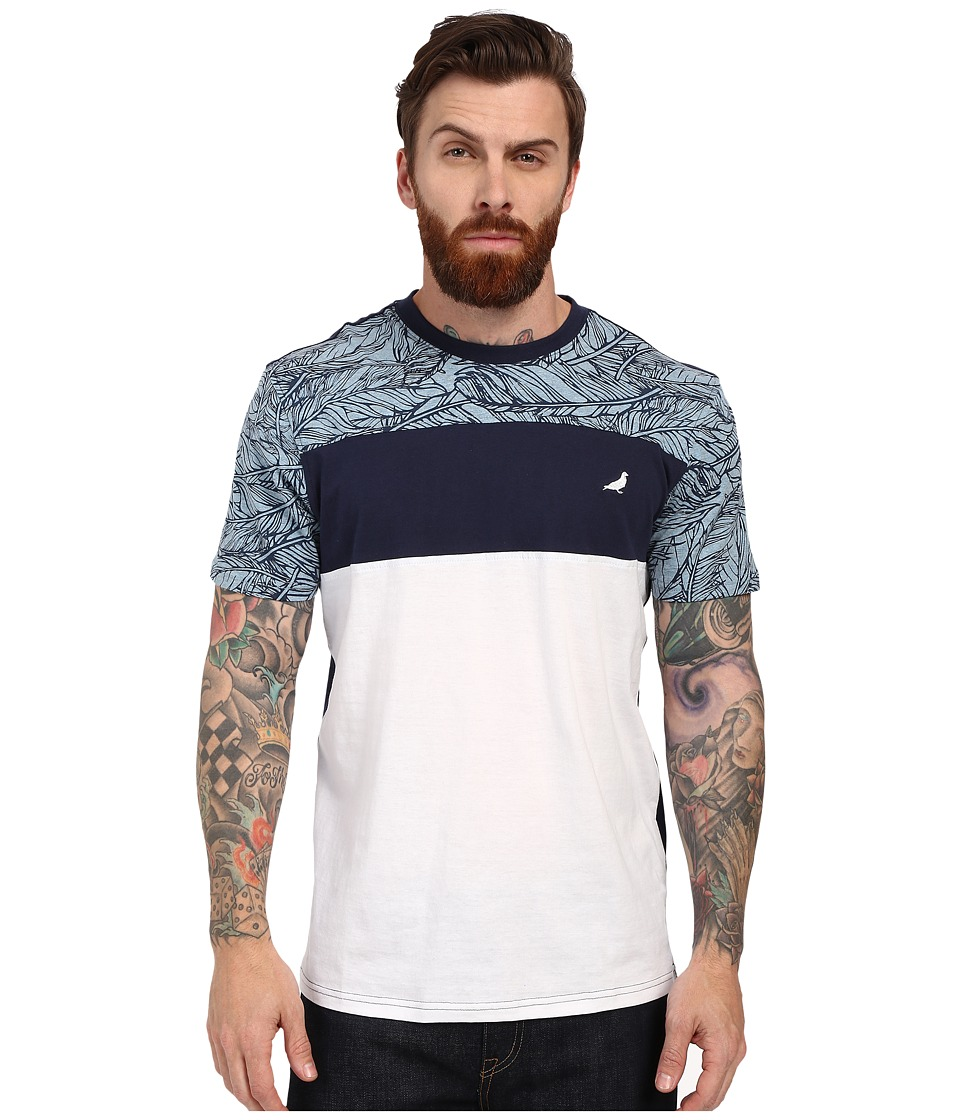 Staple - Quill Tee (Navy) Men's T Shirt