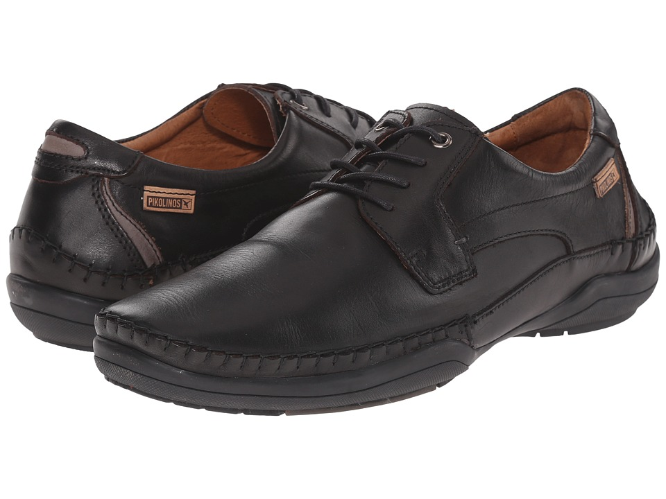 Pikolinos - San Telmo M1D-4056 (Black/Dark Grey) Men's Shoes