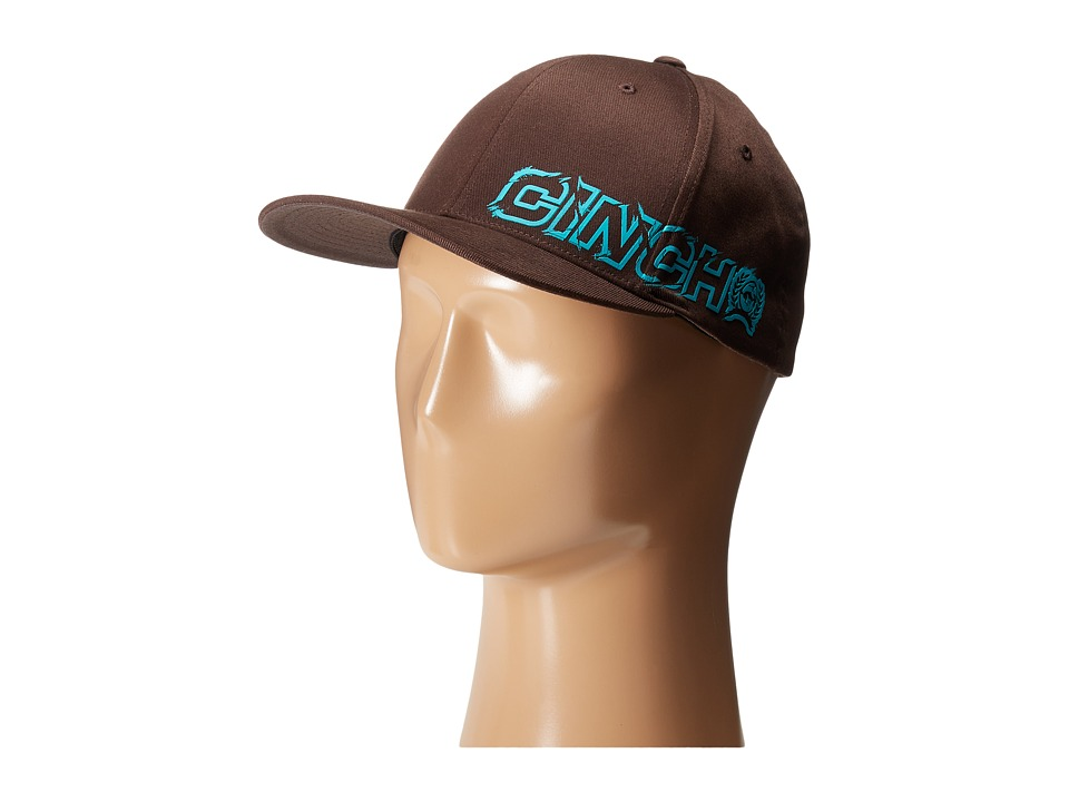 Cinch - Mid-Profile,Athletic Shape (Brown 1) Caps