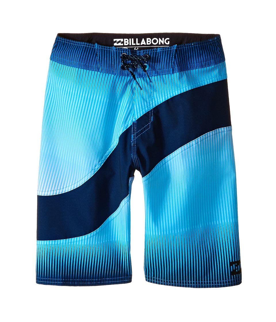 Billabong Kids - Pulse X Boardshorts (Big Kids) (Royal) Boy's Swimwear