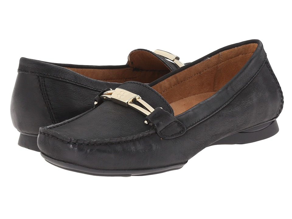 Naturalizer - Saturday (Black Leather) Women's Shoes