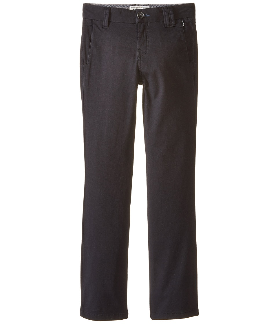 Billabong Kids - Outsider Chino Pants (Big Kids) (Black) Boy's Casual Pants