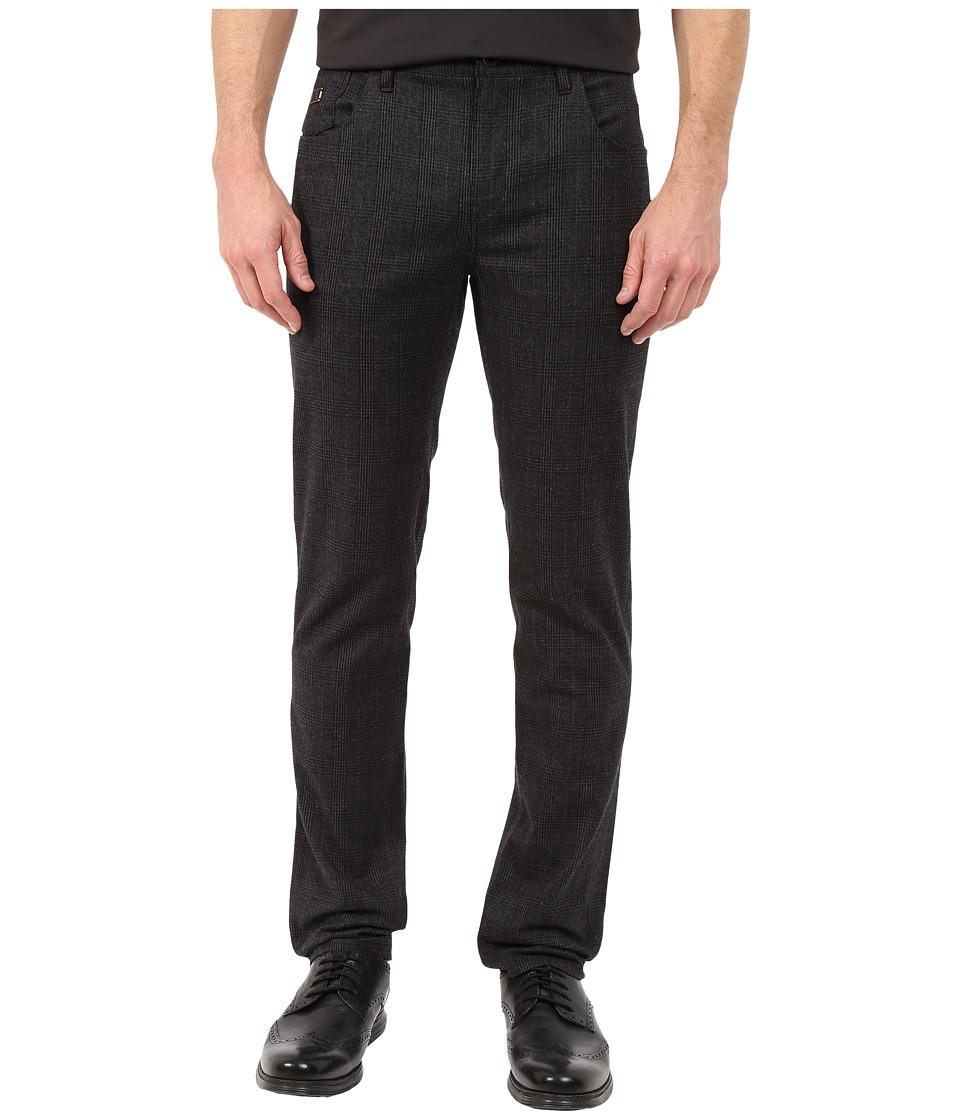 Robert Graham - Boyne Valley Woven Pants (Charcoal) Men's Casual Pants