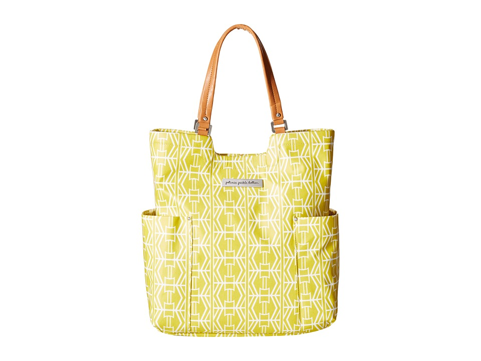 petunia pickle bottom - Glazed Tailored Tote (Electric Citrus) Tote Handbags