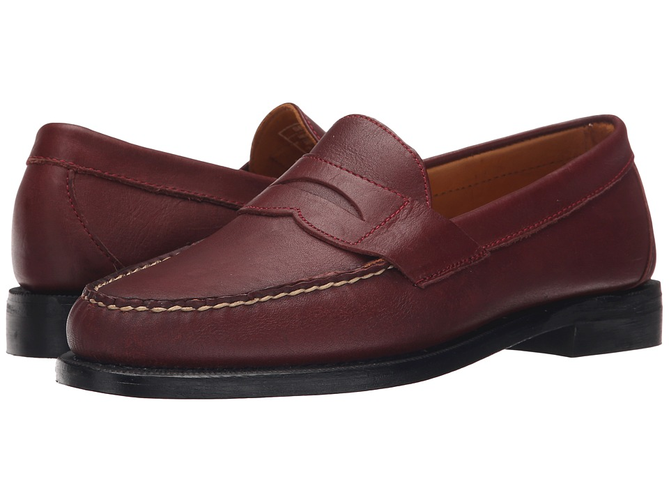 Sebago - Crest Cayman II (Burgundy Leather) Men's Slip on Shoes
