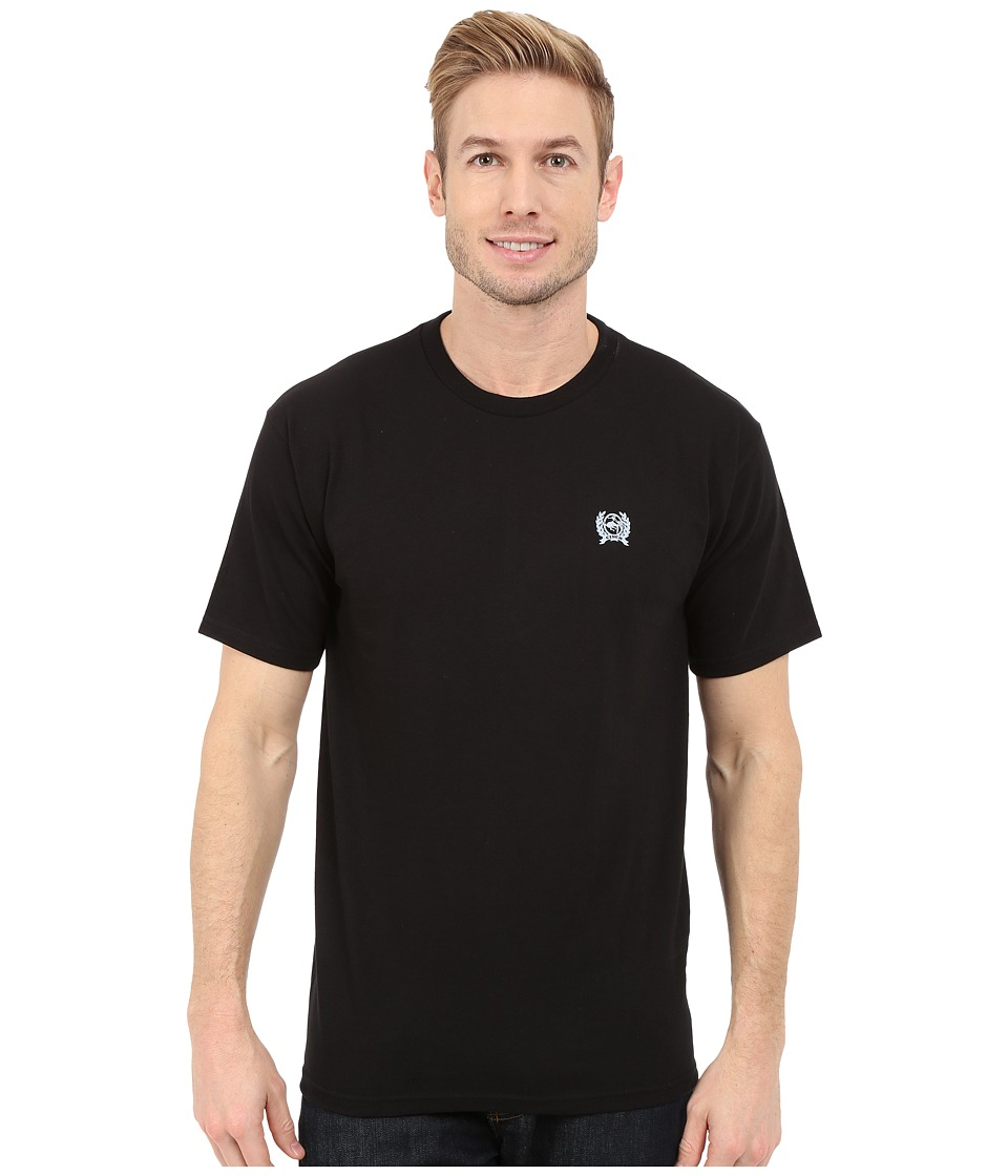 Cinch - Soft Hand Jersey Tee Short Sleeve 30/1 (Black 1) Men's T Shirt