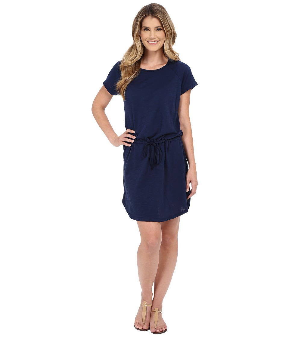 Allen Allen S/S Raglan Dress (Lapis) Women