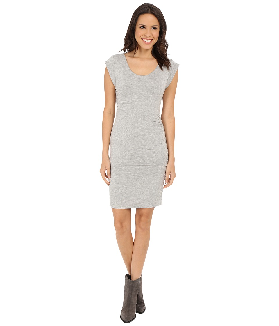 Velvet by Graham & Spencer - Elmina03 Modal Knit Dress (Heather Grey) Women's Dress