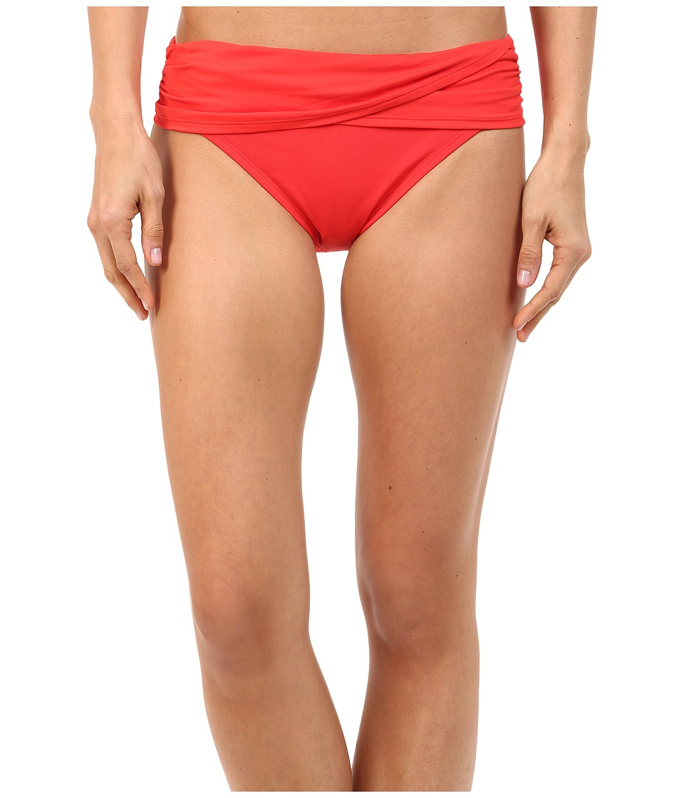 Bleu Rod Beattie - Gilt Trip Sarong Hipster Bottom (Cherry Bomb) Women's Swimwear