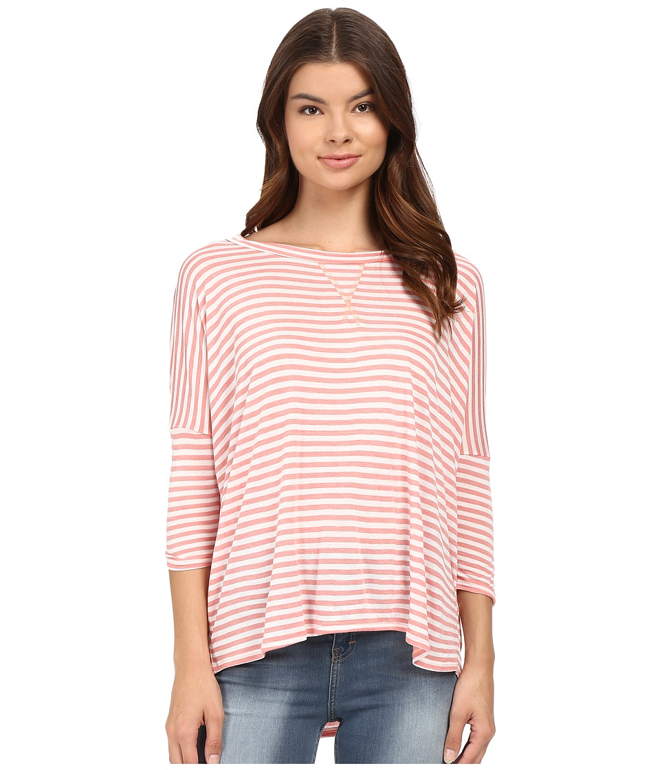 Billabong - Without You Short Sleeve Top (Rosewater) Women's T Shirt