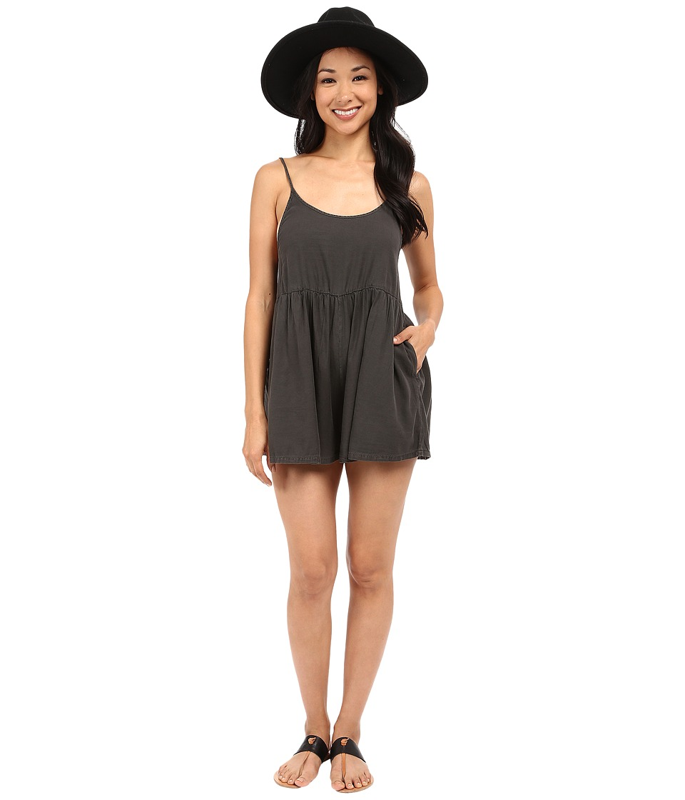 Billabong - Roadie Romper (Off-Black) Women's Jumpsuit & Rompers One Piece