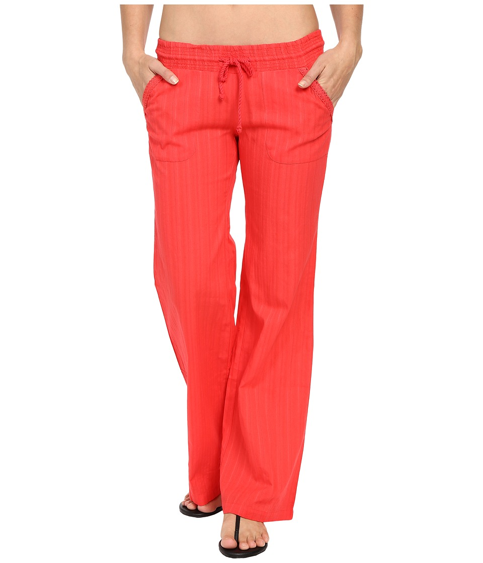 Billabong - Waves for Us Beach Pant (Hibiscus) Women's Casual Pants