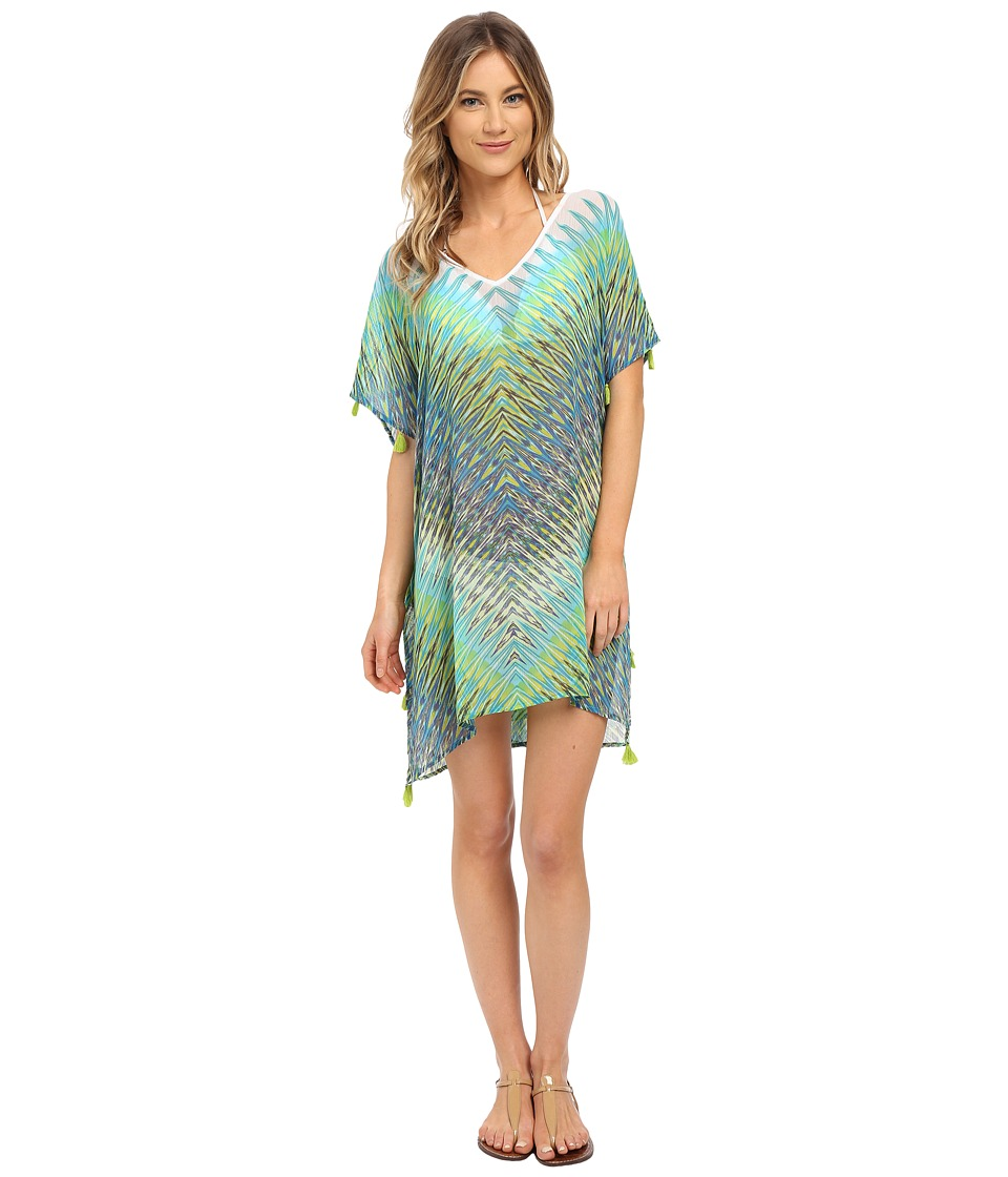 Bleu Rod Beattie Heatwave Tunic Cover-Up Twilight Swimwear