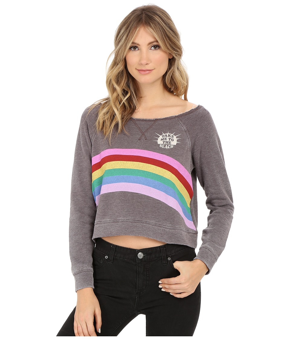 Billabong - All Over Pullover (Off-Black) Women's Sweatshirt