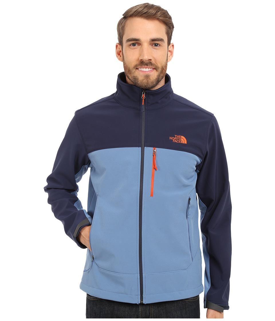 The North Face - Apex Bionic Jacket (Moonlight Blue/Cosmic Blue) Men's Coat