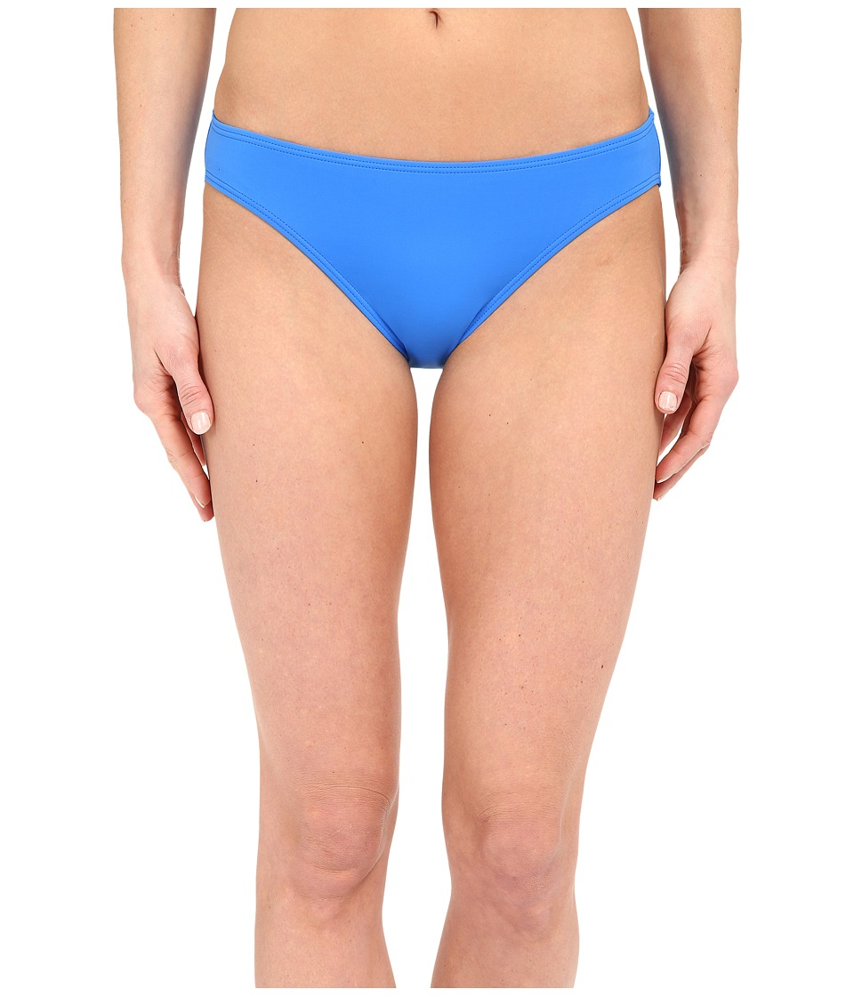 Vince Camuto - Beach Front Classic Bottom w/ Logo Bar (Cerulean) Women's Swimwear