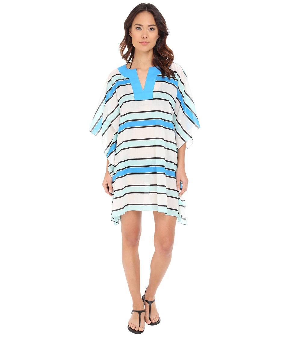 Vince Camuto - Beach Front Tunic Cover-Up (Cerulean) Women's Swimwear