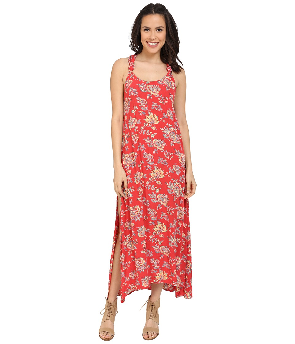 Billabong - Beyond Golden Maxi Dress (Hibiscus) Women's Dress