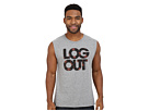 Log Out Palms Muscle Tee