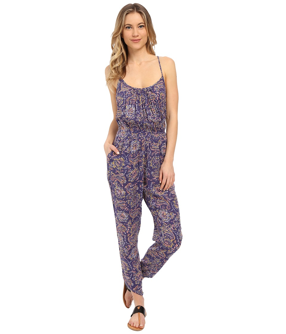 Billabong - Drifter Gold Jumpsuit (Blue Cruz) Women's Jumpsuit & Rompers One Piece