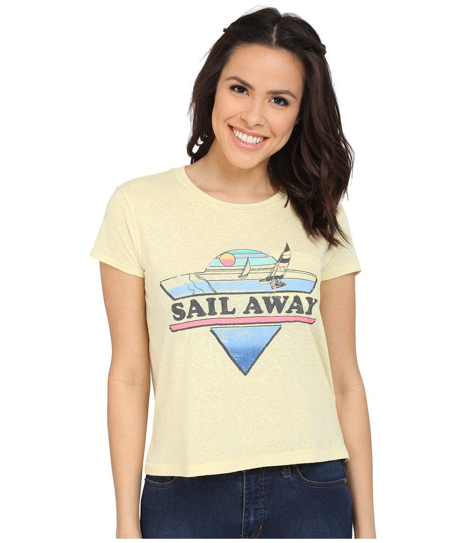 Billabong - Sail with Me Tee (Gold Dust) Women's T Shirt