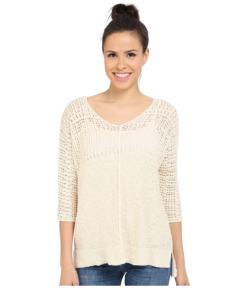 Billabong - Stitches Over You Pullover (Cool Whip) Women's Sweater