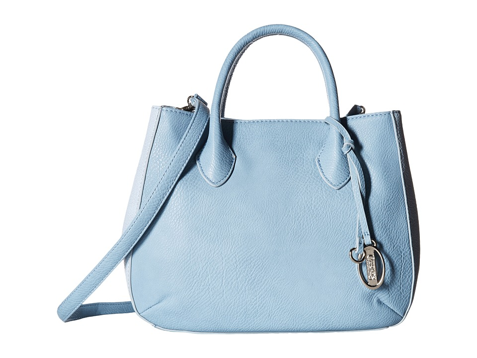 CARLOS by Carlos Santana - Laurel Satchel (Blue/Light Blue) Satchel Handbags