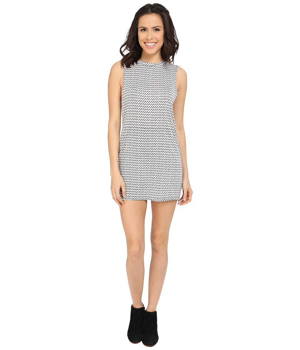 Billabong - Wonder Why Dress (Black/White) Women's Dress