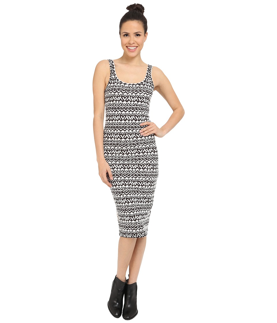 Billabong - Take Me Away Bodycon Dress (Off-Black) Women