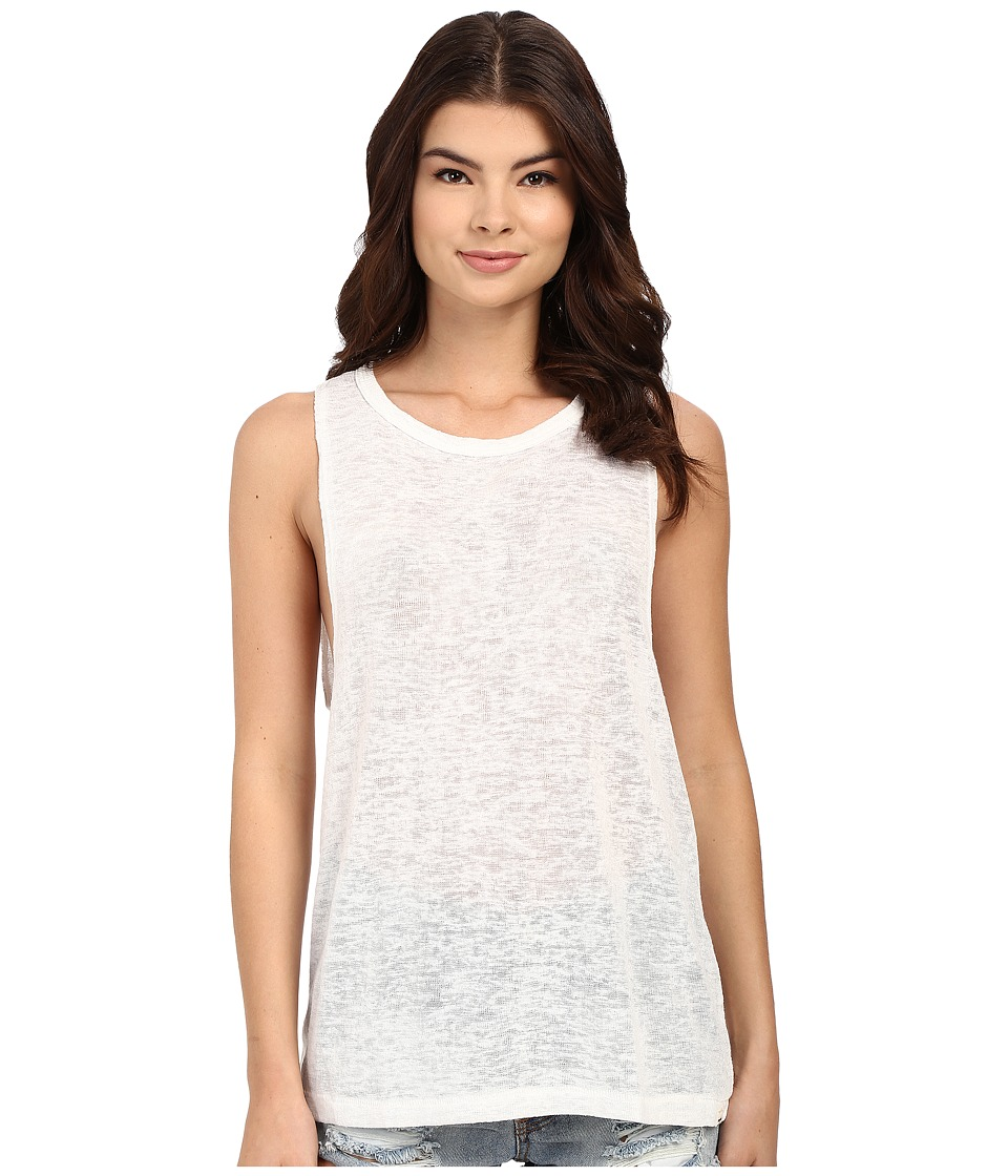 Billabong - Mid Summer Dream Tank Top (Cool Whip) Women's Sleeveless