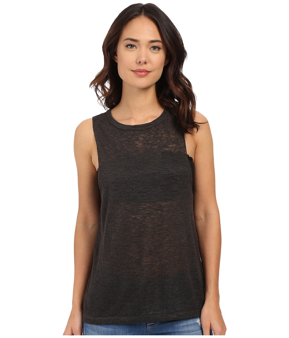 Billabong - Mid Summer Dream Tank Top (Off-Black) Women's Sleeveless