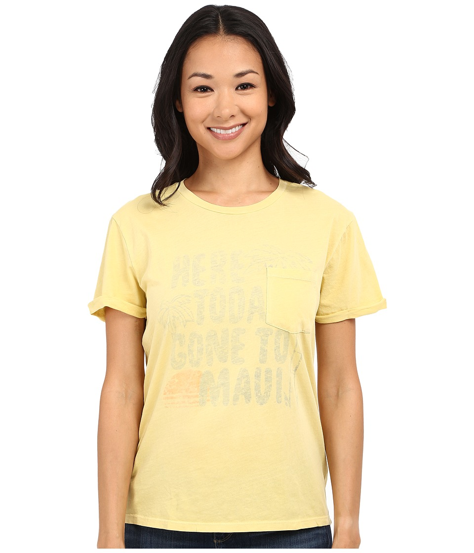Billabong - Sweet Sands Tee (Vintage Yellow) Women's T Shirt