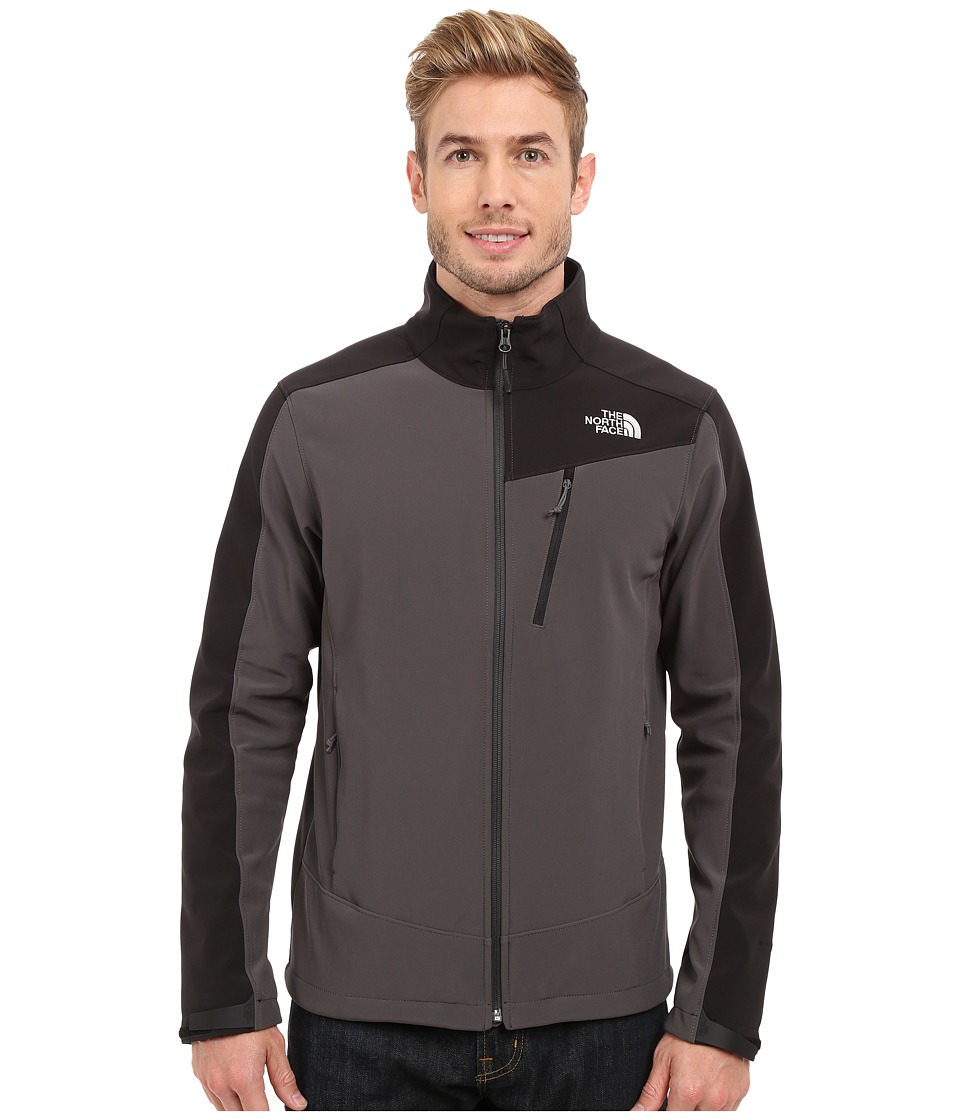 The North Face - Apex Shellrock Jacket (Asphalt Grey/TNF Black) Men's Coat
