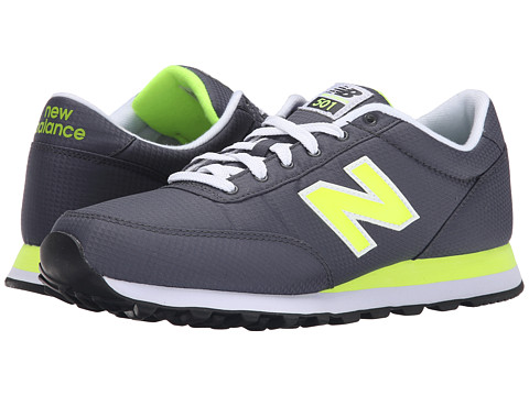 New Balance - ML501WBO (Grey/Yellow) Men's Shoes