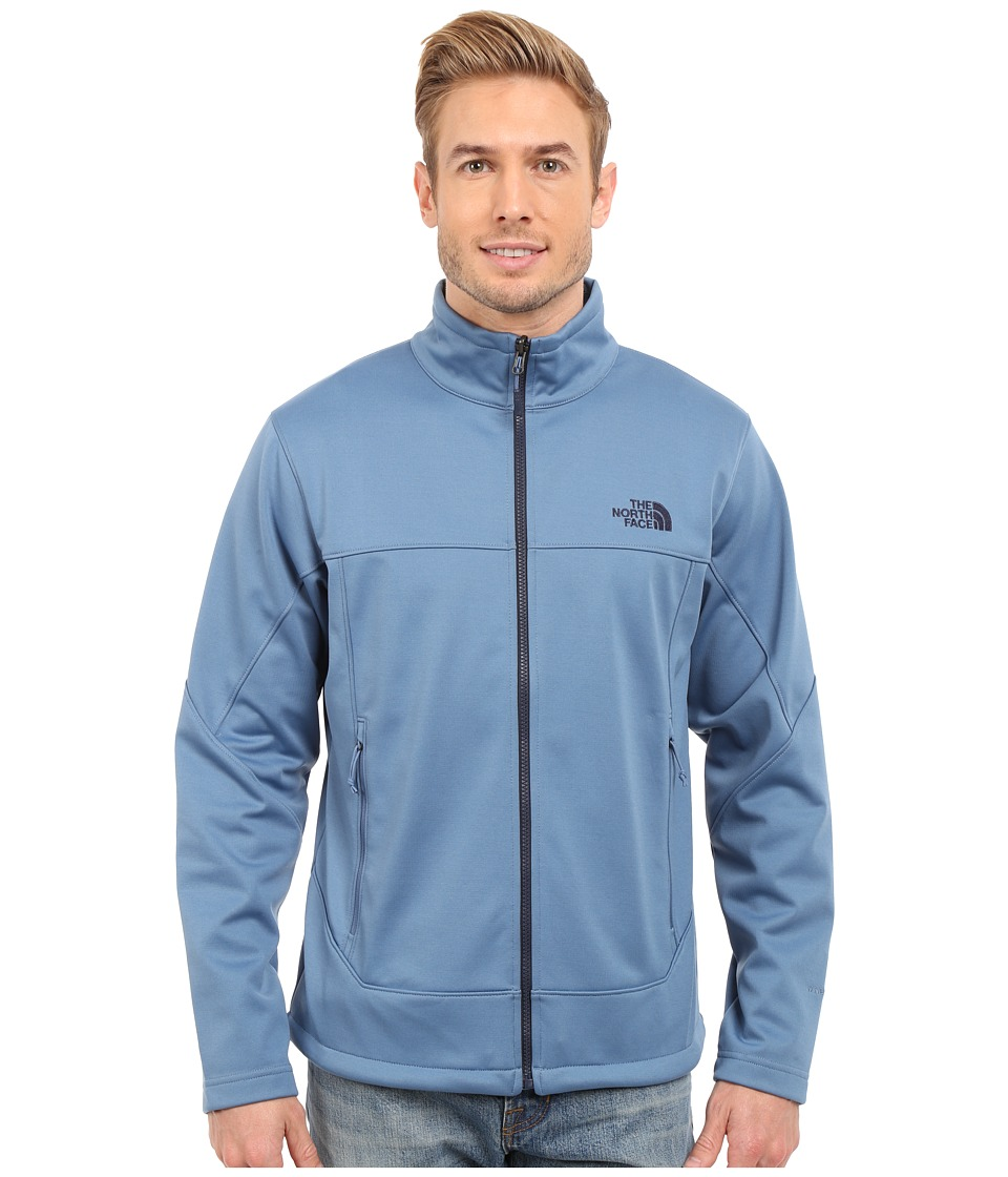 The North Face - Canyonwall Jacket (Moonlight Blue/Moonlight Blue) Men's Coat