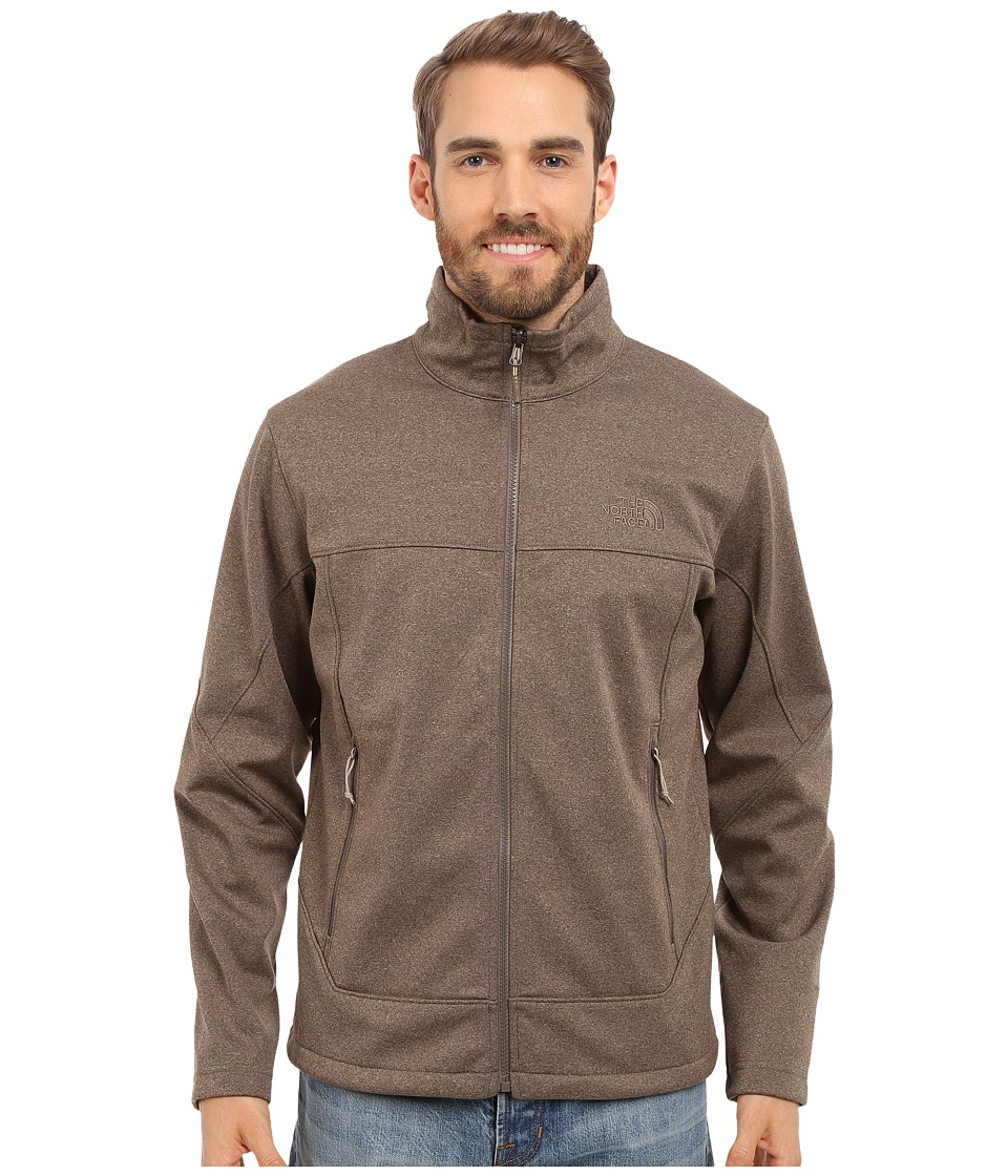 The North Face - Canyonwall Jacket (Weimaraner Brown Heather/Weimaraner Brown Heather) Men's Coat