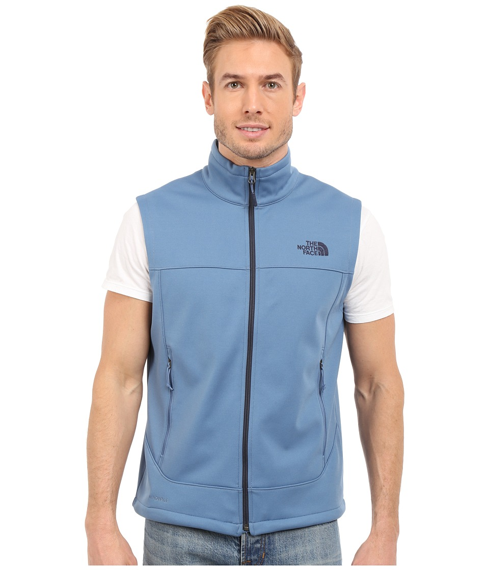 The North Face - Canyonwall Vest (Moonlight Blue/Moonlight Blue) Men's Vest