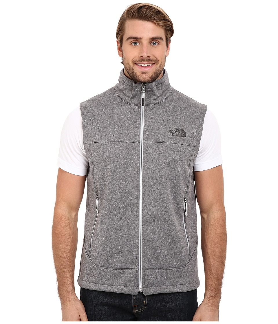 The North Face - Canyonwall Vest (High Rise Grey Heather) Men's Vest