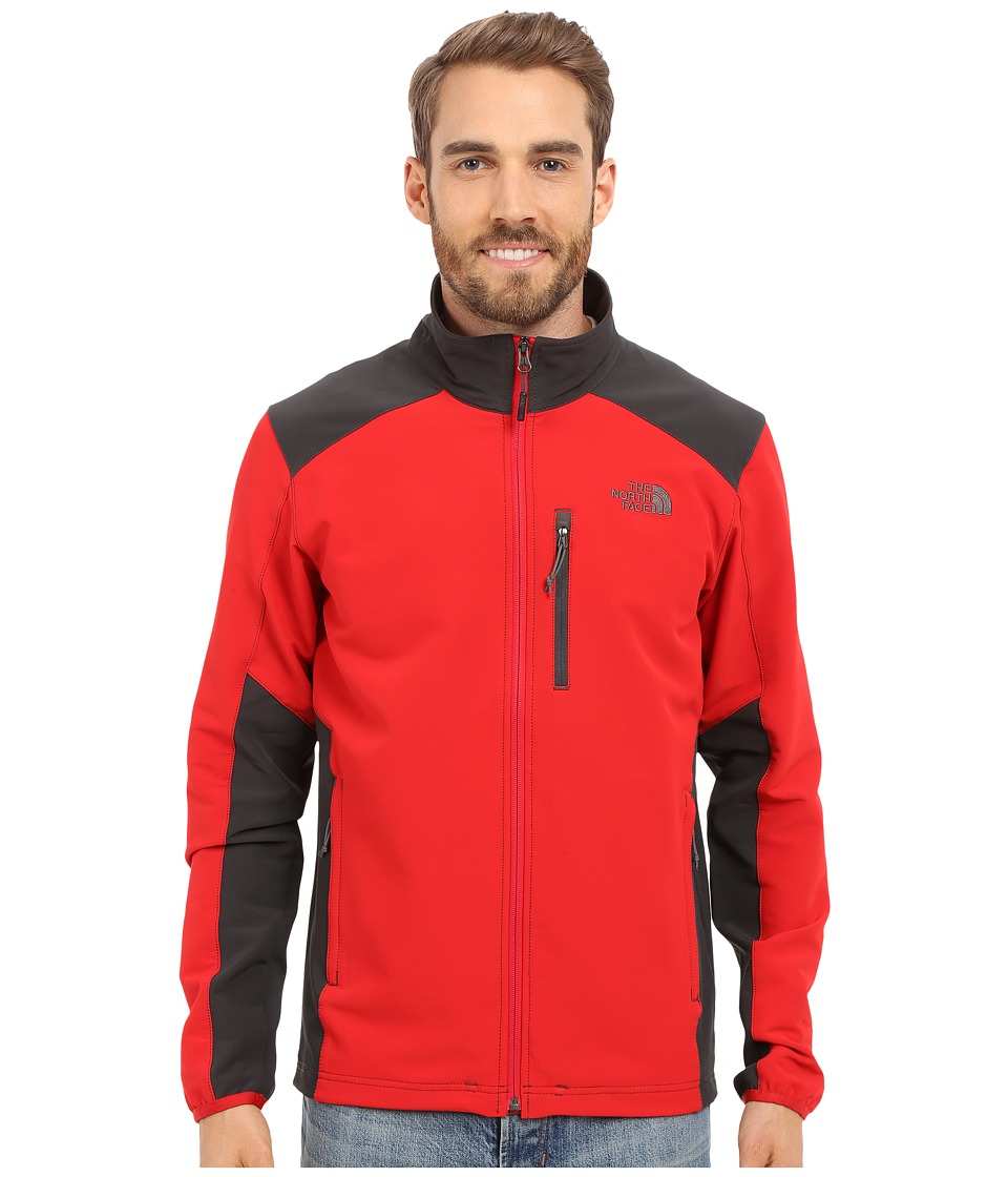The North Face - Apex Pneumatic Jacket (TNF Red/Asphalt Grey) Men's Coat