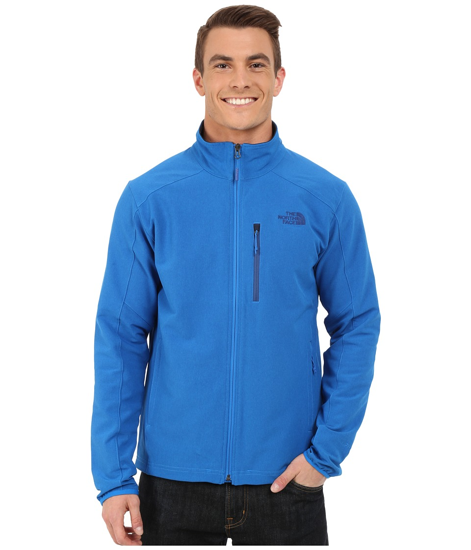 The North Face - Apex Pneumatic Jacket (Bomber Blue Heather/Bomber Blue Heather) Men's Coat