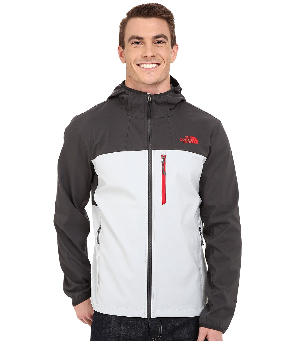 The North Face - Nimble Hoodie (High Rise Grey/Asphalt Grey) Men's Coat