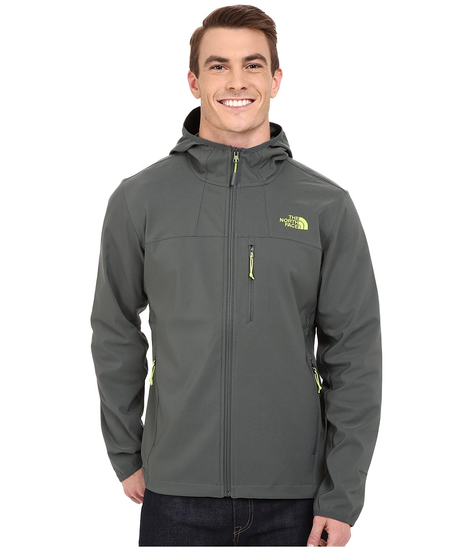 The North Face - Nimble Hoodie (Spruce Green/Spruce Green) Men's Coat
