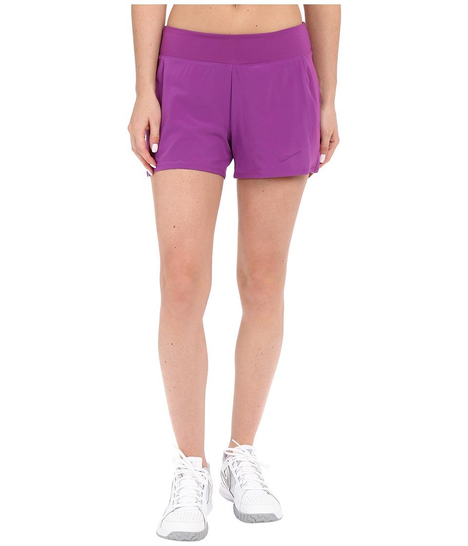 Nike Court Baseline Tennis Short (Cosmic Purple/Cosmic Purple) Women