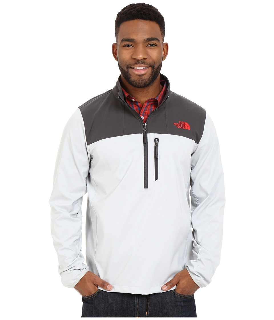 The North Face - Nimble 1/2 Zip Jacket (High Rise Grey/Asphalt Grey) Men's Long Sleeve Pullover